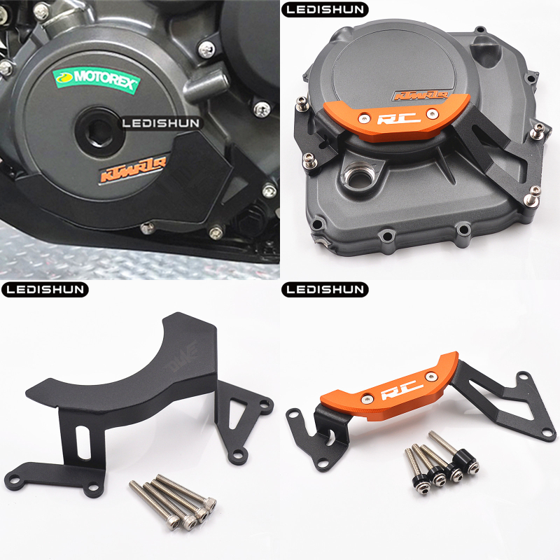 Engine Stator Crank Case Guard Cover Set For KTM RC8 RC8R 1290 Super Duke R