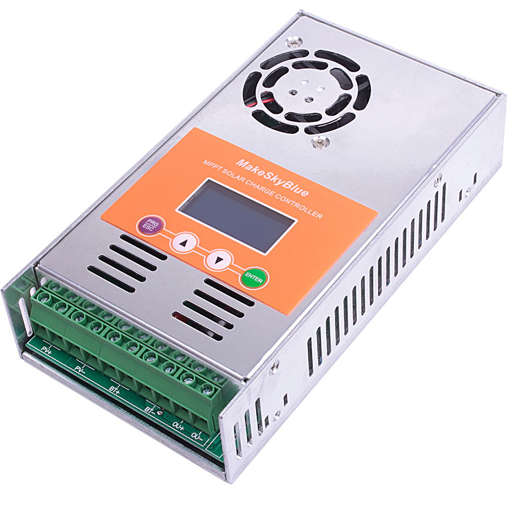 Mppt 60a Solar Charge Controller 12v 24v 36v 48v Battery Specifics Lcd 30a 40a 50a Regulator Fan Free Ship In Controllers From Home