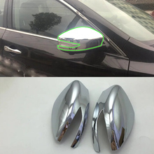 Car Accessories Exterior ABS Chrome Rearview Mirror Decoration Cover For Nissan Altima 2016 Styling
