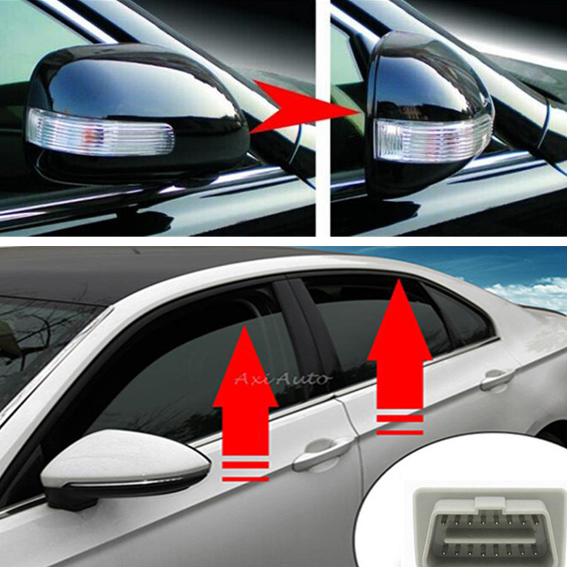 No Error OBD Auto Car Window Closer For Volkswagen Passat B7 CC Vehicle Glass Car Mirror Folding Module System Car Accessory