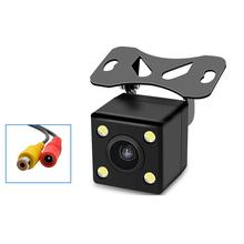 цена на Rear View Camera Waterproof Full HD CCD Car Rear Camera 4 LED Night Vision Car Parking Assistance Parktronic Camera