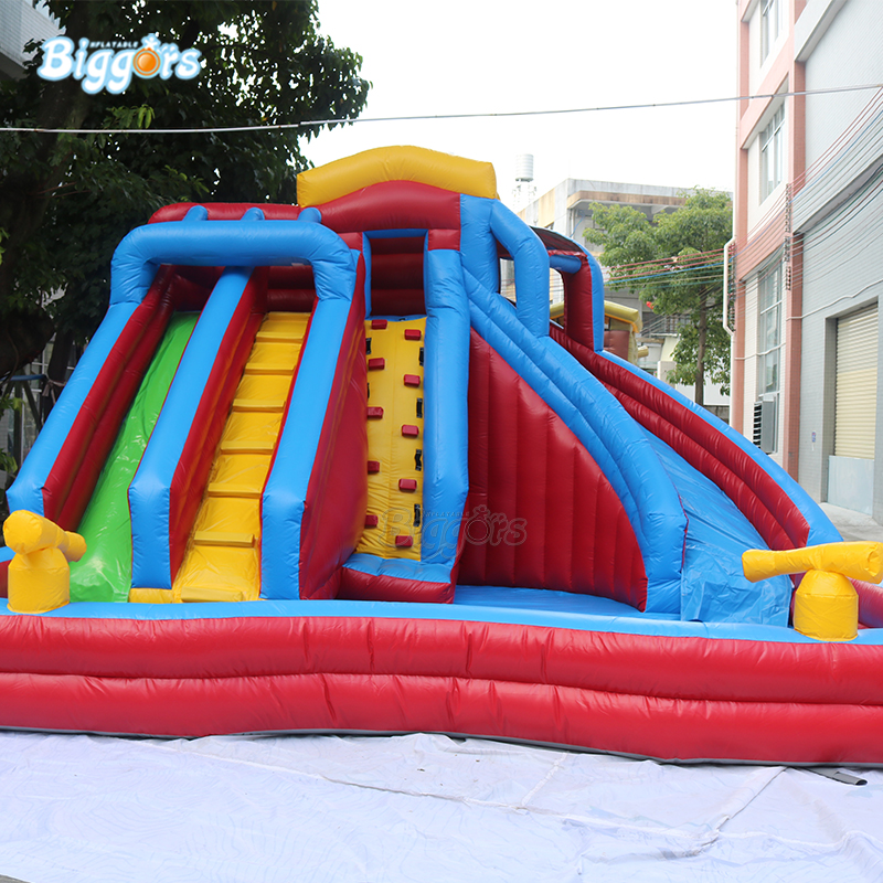 YARD En14960 certifié enfants et adultes d'été Commercial géant exploser jeu d'amusement gonflable piscine à glissière d'eau