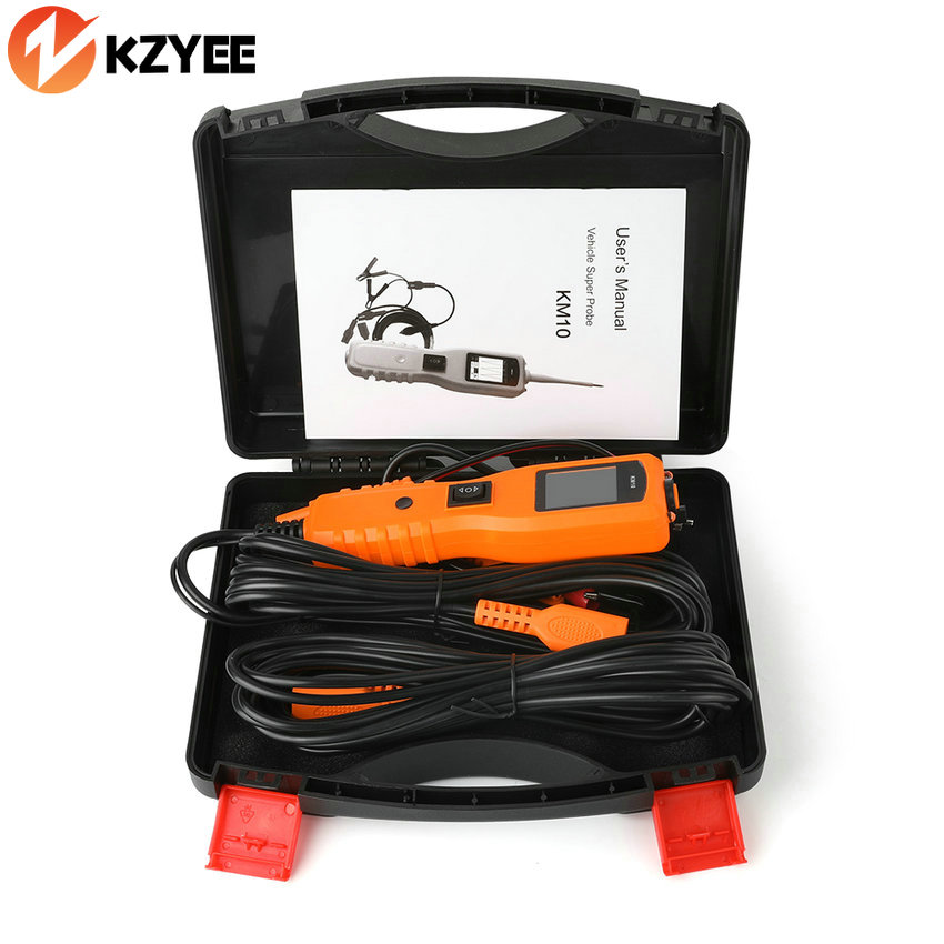Automotive Voltage Tester : Power probe car electric circuit tester auto voltage km
