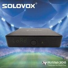 SOLOVOX IPTV apoyo árabe inglés francés alemán ruso español América del Sur IPFOX IP50 + 12 meses suscripción 2200 + vivo