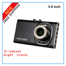 "Brand New Arrive GT900 Car Camera DVR Full HD 1080P 120-degree wide angle +G-sensor Night Vision Dash Cam 3""LCD(China)"