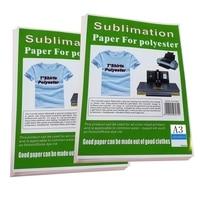 Inkjet Printer A3 Sublimation paper 50 Sheets 11.7 x 16.5 Sublimation Ink Heat Transfer Paper Iron sublimation paper