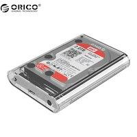 ORICO 3139U3 3 5 Inch Transparen HDD Enclosure Case USB 3 0 5Gbps SATA3 0 Support