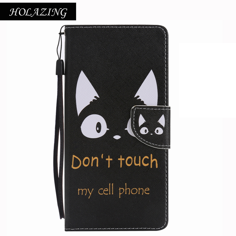 HOLAZING PU Leather Soft Silicone Wallet Case For iPhone 7 4.7 Holder Back Cover Stand Phone Bags
