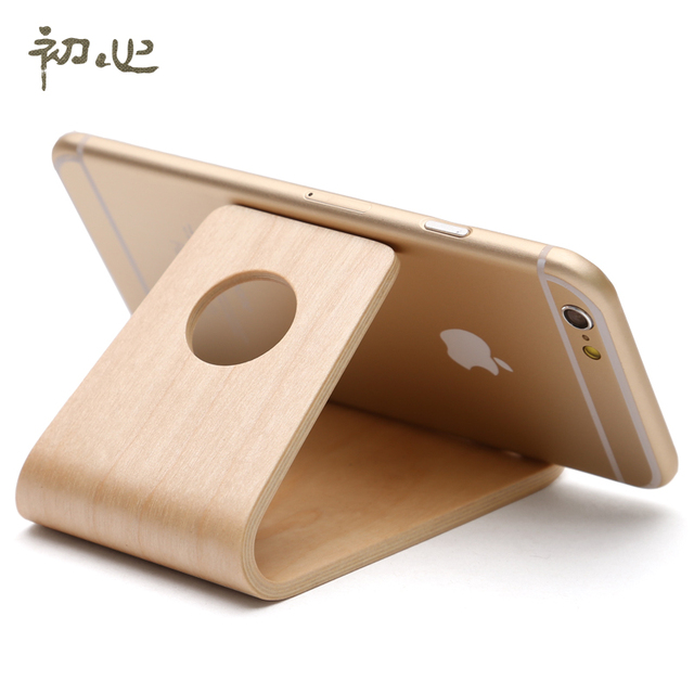 First Heart Wooden Phone Holder Office Gift Ideas S Practical Small Gifts To Send Her Boyfriend