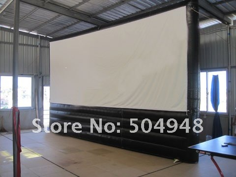 inflatable screen inflatable movie screen for advertising inflatable cartoon customized advertising giant christmas inflatable santa claus for christmas outdoor decoration