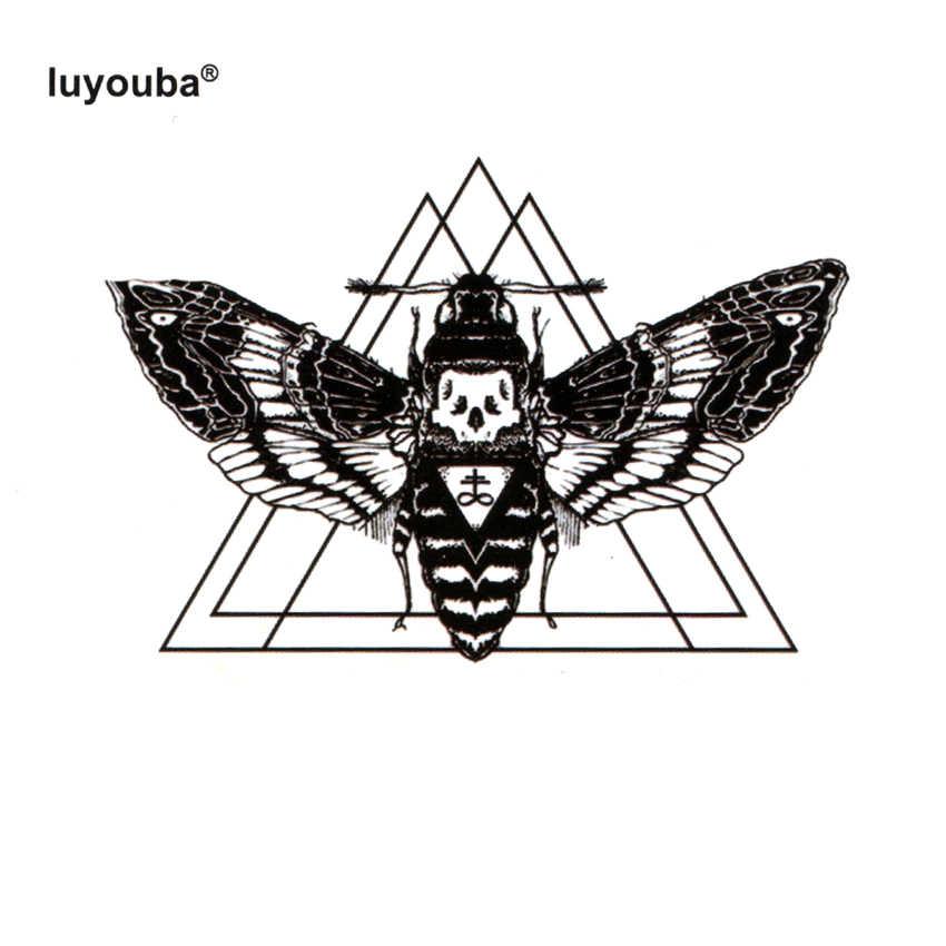 Красота пчела водонепроницаемый временные татуировки для мужчин Милая Татуировка животных дети Harajuku хна татуировки боди-арт стикер Павлин рука