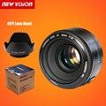 En la Acción! yongnuo yn 50mm f1.8 lente de gran apertura auto focus lens 50mm/f1.8 para canon eos dslr cámaras