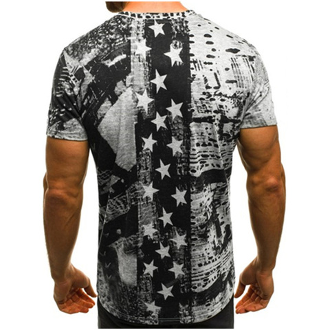 Summer T Shirt Men Military Printing O-Neck Top Tee Casual Fashion tee shirt homme Brand Fitness Tshirts Male Short Sleeve M-3XL Islamabad