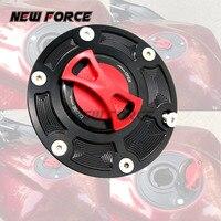 8 Colors Moto Tank Fuel Cover For Triumph Speed Triple 1050 955i Tiger 1050 800 XC TT600 CNC Billet Gas Cap Accessories Oil Cap
