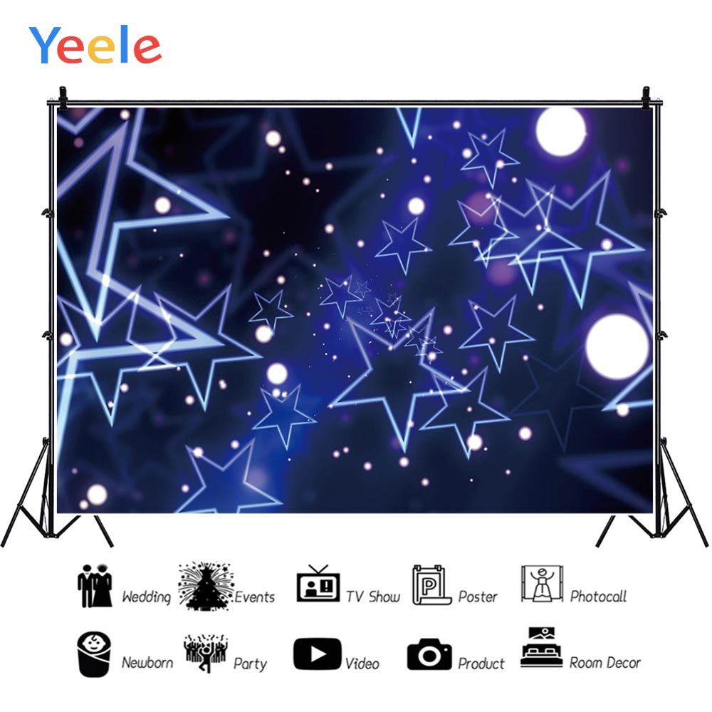 Yeele Party Rock Dance Decor Stage Light Customized Photography Backdrop Personalized Photographic Backgrounds For Photo Studio in Background from Consumer Electronics