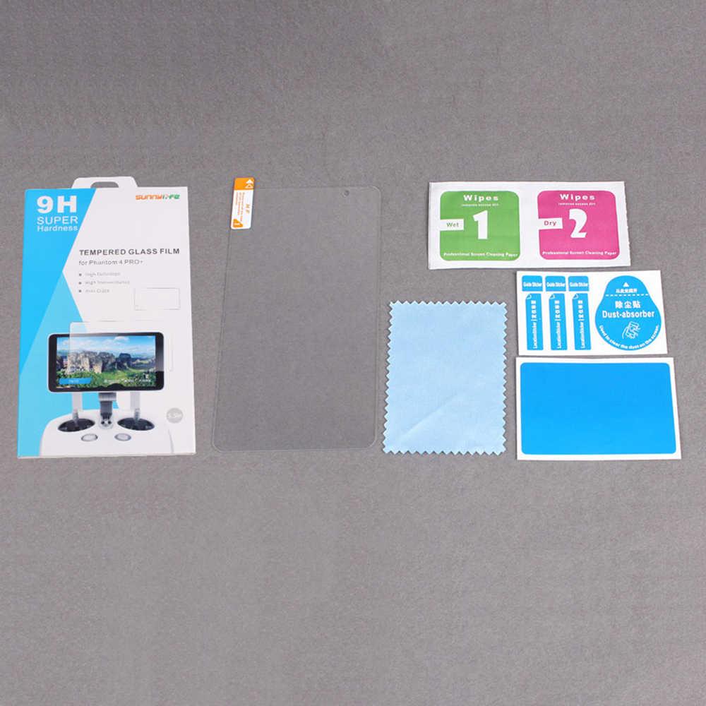 Sunnylife 5.5in خفف زجاج عليه طبقة غشاء رقيقة HD شاشة طبقة رقيقة واقية ل DJI فانتوم 4 برو + تحكم عن بعد شاشة العرض