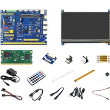 Raspberry Pi Compute Module 3 Development Kit Type B With CM3 Compute Module IO Board Plus 7inch HDMI LCD C IR remote controller
