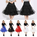 New Short Wedding Petticoats White Black Red Crinoline Girls Enaguas Novia Underskirt Rockabilly Petticoat Jupon Mariage Enaguas