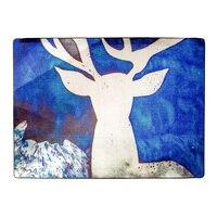 WINLIFE Nordic Fancy Deer Tapijten Grote Karpetten Voor Parlor/Woonkamer/Hal Thee Placemats Nachtkastje Tapijten Kinderkamer Tapijten