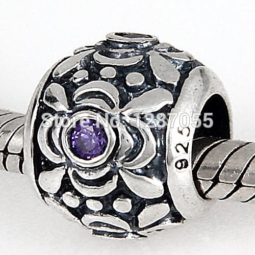 Europe Fashion 925 sterling silver beads for women charms Rhinestones Jewelry fit pandora DIY necklaces & bracelets
