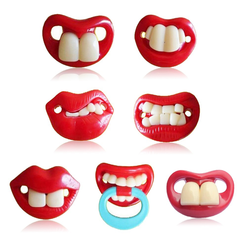 Silicone Funny Pacifiers Chupeta Silicone Mustache Pacifiers Sucette font b Baby b font Pacifier Nibbler Nipple