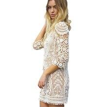 Robe De Plage Crochet Bikini Tunic