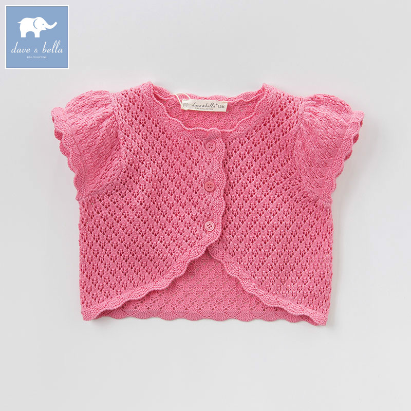 DBA6658 dave bella baby girls summer fashion cardigan kids toddler coat lovely children knitted sweaterDBA6658 dave bella baby girls summer fashion cardigan kids toddler coat lovely children knitted sweater