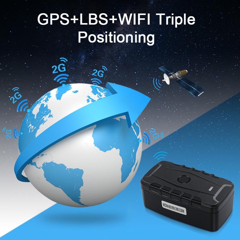 GPS Tracker Car LK209C 20000mAh 240 Days Standby Waterproof Vehicle Tracker GPS Locator Tracking Device Magnets