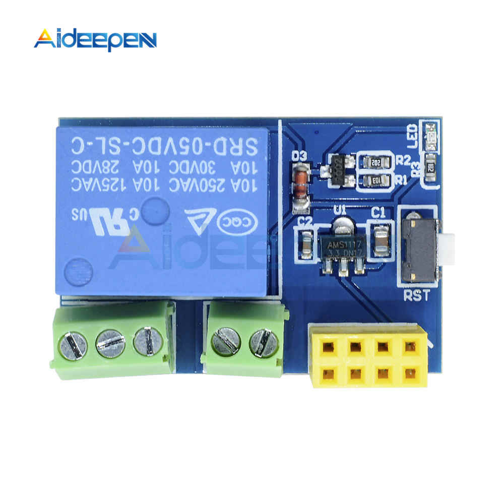 ESP8266 5V 1CH Modul ESP-01/01 S WIFI Modul untuk Arduino Uno R3 Mega2560 Nano Raspberry Pi smart Home Wireless Relay Papan