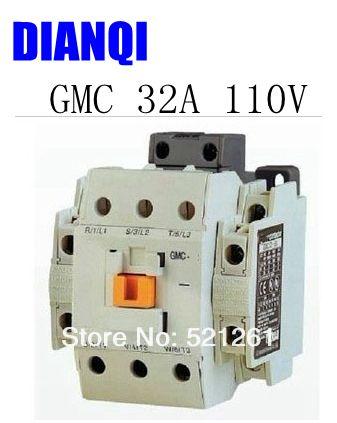 CONTACTOR AC GMC GMC-32 32a 110V 50/60hz high quality цена и фото