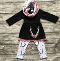 Girls Clothing Sets 2017 Fashion girls 3pcs Kids Clothing Sets T-shirt+pant +bib for Girls Clothes