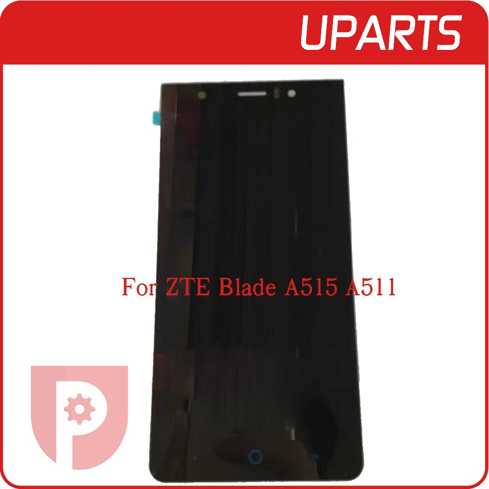 High Quality For ZTE Blade A515 A511 LCD Display Touch Screen Glass Digitizer Assembly Replacement Tracking code Free Shipping zte blade a515 черный
