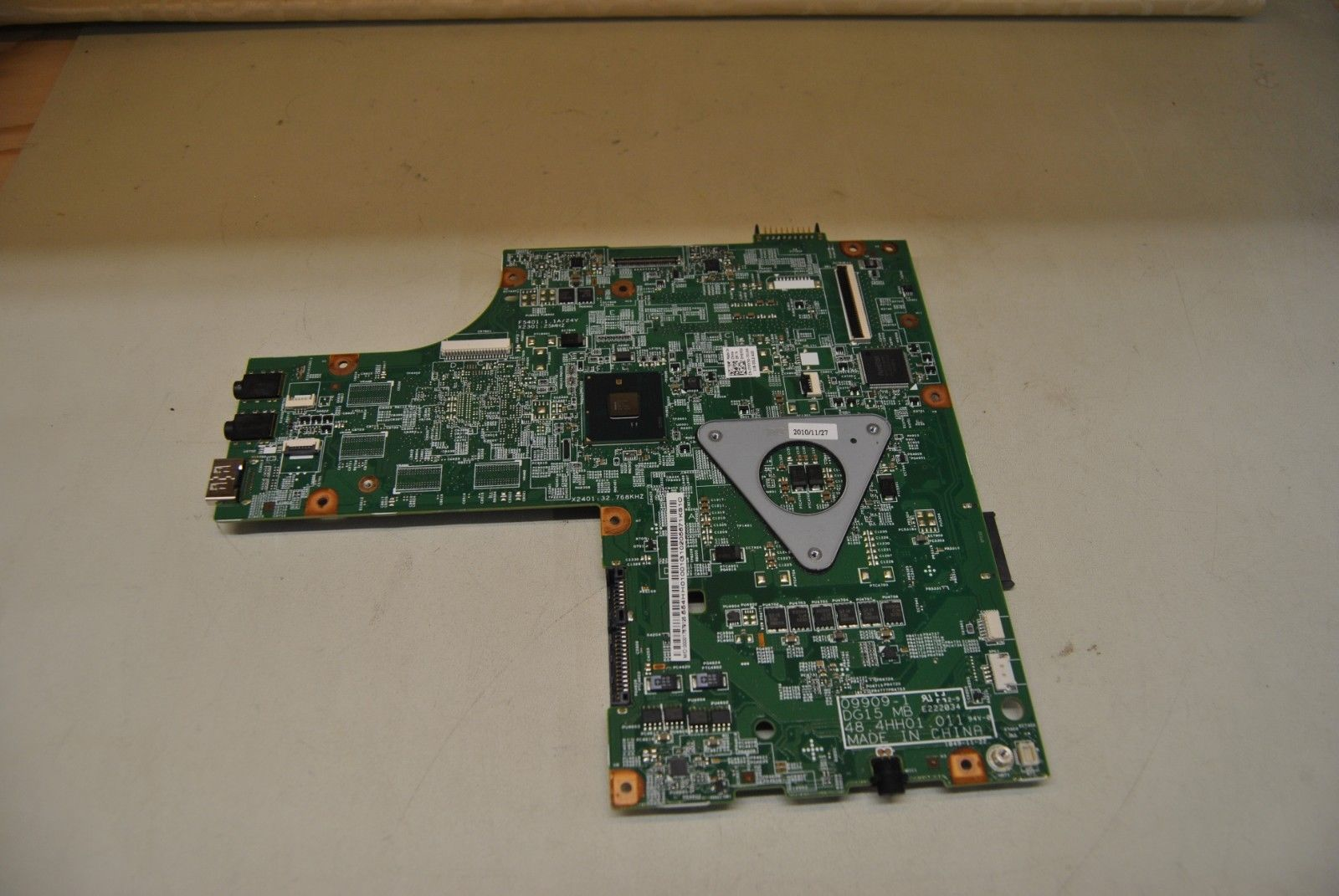 Laptop Motherboard For Dell Insprion N5010 CN-0Y6Y56 Y6Y56 HM57 PGA989 09909-1 48.4HH01.011 DDR3 Fully TestedLaptop Motherboard For Dell Insprion N5010 CN-0Y6Y56 Y6Y56 HM57 PGA989 09909-1 48.4HH01.011 DDR3 Fully Tested