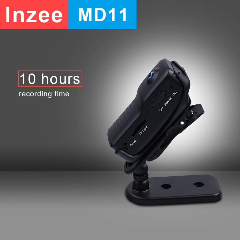Lnzee MD11 Mini Camera MINI Camcorder DVR Sport Video Cam Bike Action DV Video Voice Long Recording Time 10hours Support 32GB