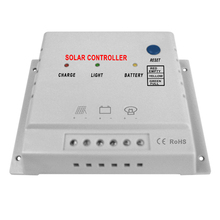 Solarparts 10A 12V 24V automatic MPPT Solar Controller solar charger for flexible solar panel Marine RV