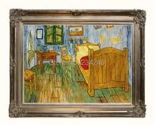 Bedroom at Arles by Vincent Van Gogh Handpainted