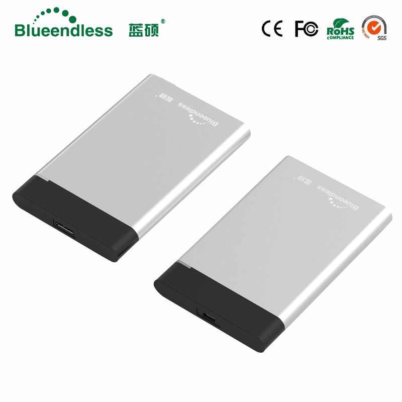 Blueendless/® U23YA 2.5 SATA HDD Hard Disk Enclosure with USB3.0 Port USB Cable