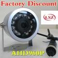 HD infrarot auto kamera AHD 960 P luftfahrt kopf schnittstelle lkw umkehrung bild überwachungskamera-in Überwachungskameras aus Sicherheit und Schutz bei