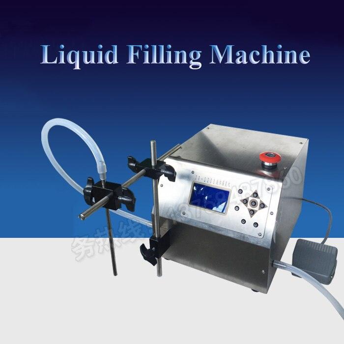 Commercial Liquid Filling Machine Auto-quantifying Racking Machine Chemicals Racking Machine Cosmetics/Liquor/Oil Filling L200