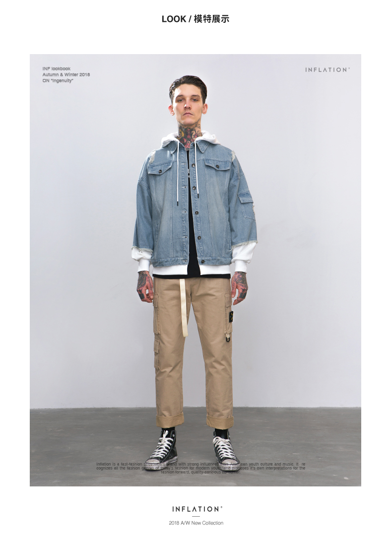 Leisure denim jacket