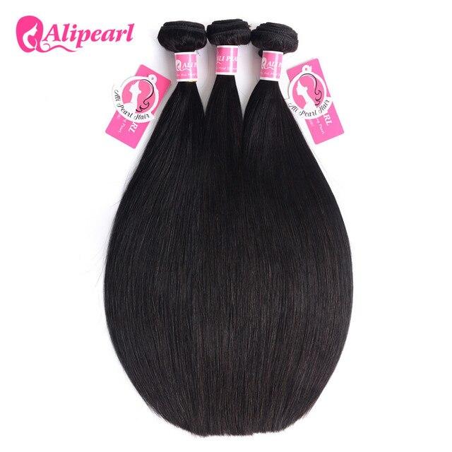 Alipearl Hair 100 Human Hair Bundles Malaysian Straight Hair Weave