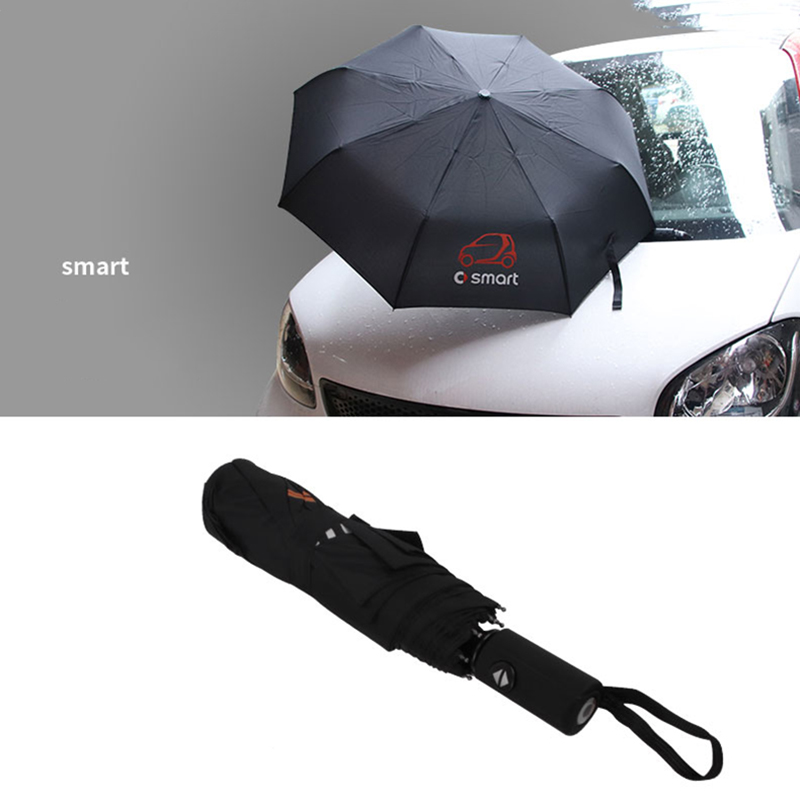 Car Styling Automatic Umbrella Accessories Gift For Mercedes-Benz Smart Fortwo 451 Forfour 453 450 Auto Accessories