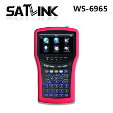 SATLINK WS-6965 DVB-T2 Terrestrial Signal Meter Finder MPEG-2 MPEG4 H.264 Sat find Test Free IPTV Account subcription m3u(China)