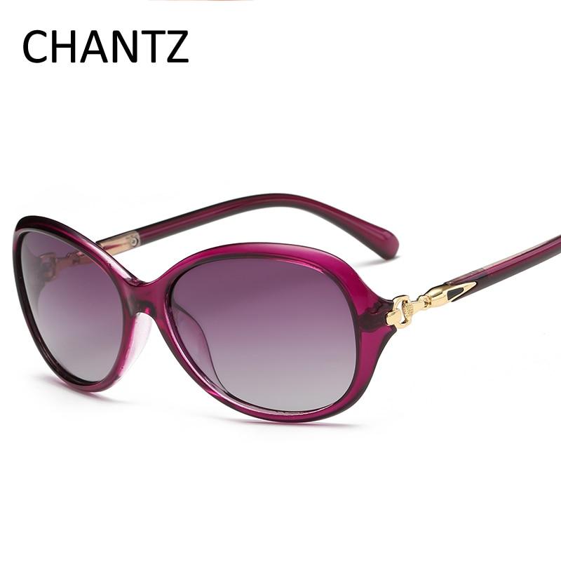 Moda mujer gafas de sol polarizadas diseñador de la marca de lujo - Accesorios para la ropa