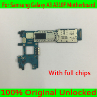 Single / Dual Sim Card for Samsung Galaxy A3 A310F Motherboard,100% Original unlocked for Samsung A310F Logic board,Good Tested
