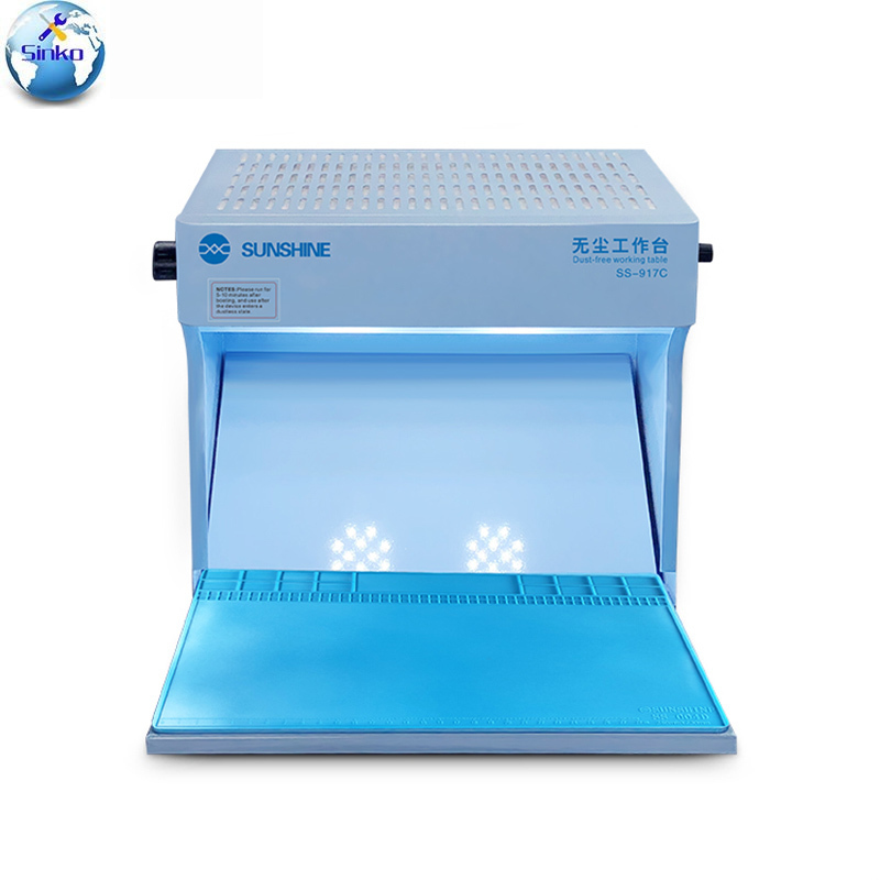 Sunshine SS 917C Dust Free Working Room Anti Dust Working Bench Adjustable Wind Cleaning Room for