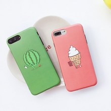 Фотография Fashion Summer Sunglasses Watermelon soft silicone tpu gel case cover for iphone 6 4.7 inch iphone6 case with screen film gift