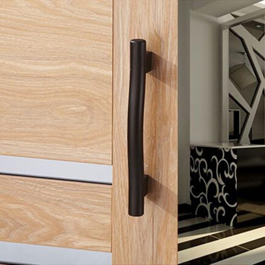 128mm Black Kitchen Cabinet Handles Antique Dresser Cupboard Drawer Door Pulls 5 Modern Vintage Furniture Hardware Handle In From Home