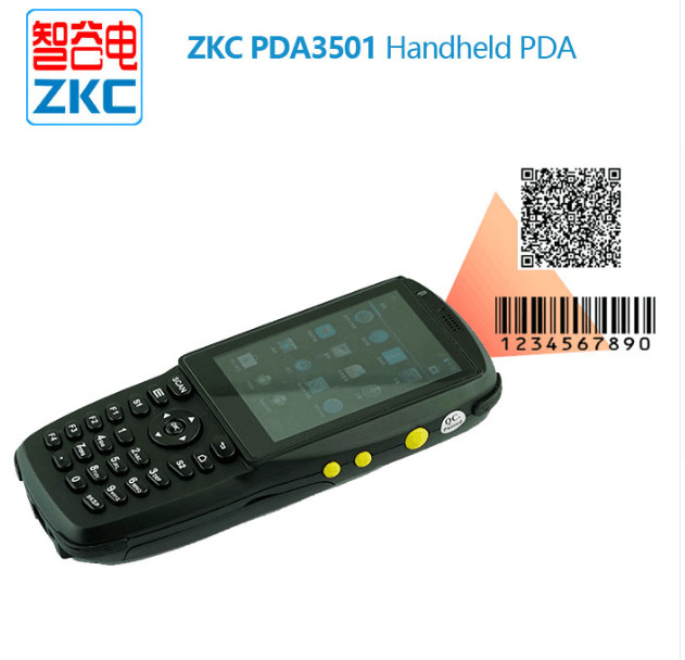 Low price 1D/2D Barcode scanner device with touch screen