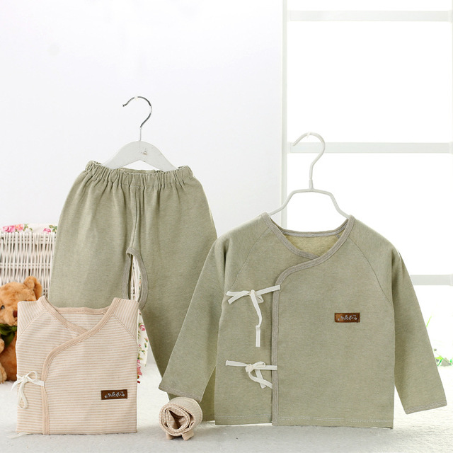 2016 Newborn Clothes Toddler Clothing Set Long Sleeve Coat Pants Suit Baby's set Boy Girl Clothes Bebe